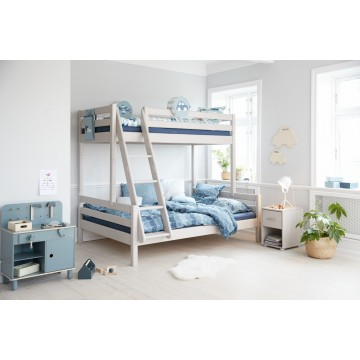 CLASSIC – FAMILY BED 90/140CM – GREY WASHED