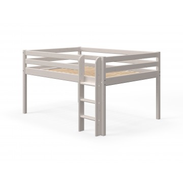 CLASSIC - MID HIGH BED - 140CM - GREY WASHED