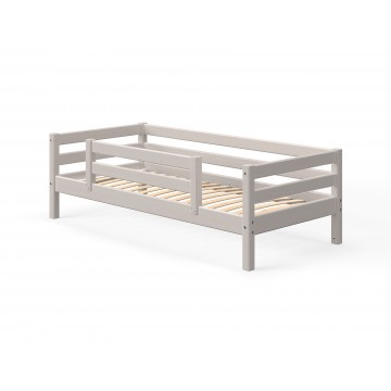 CLASSIC - SINGLE BED - 1/2 RAIL - GREY WASHED