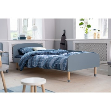 DOTS – SINGLE BED – WHITE