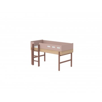 POPSICLE – MID HIGH BED W. STRAIGHT LADDER – CHERRY