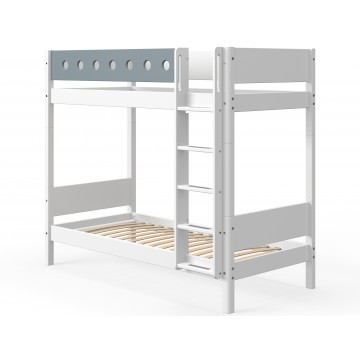 WHITE – BUNK BED EXTRA HEIGHT – WHITE / BLUE