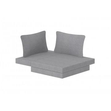 WHITE – CASA HIGH BED – WHITE / BLUE