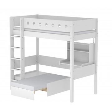 WHITE – CASA HIGH BED – WHITE / WHITE