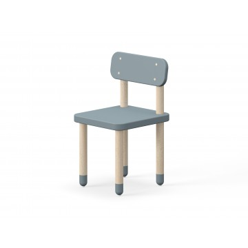 CHAIR WITH BACK REST – LIGHT BLUE