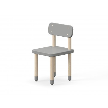 CHAIR WITH BACK REST – URBAN GREY