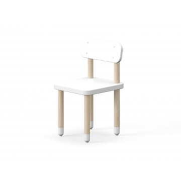 CHAIR WITH BACK REST – WHITE