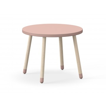 DOTS – ROUND TABLE – LIGHT ROSE