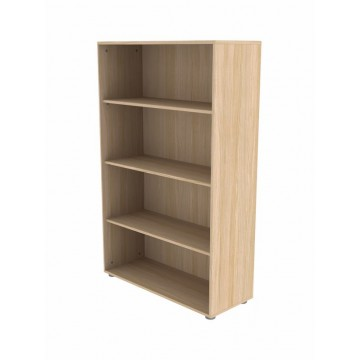 HIGH WIDE BOOKCASE WITH 3 SHELVES