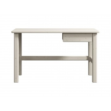 CLASSIC - STUDY DESK W. DRAWER - WHITE WASHED