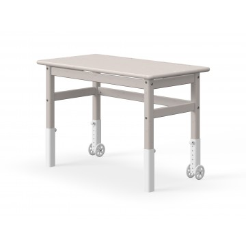 PULLOUT DESK - GREY WASHED