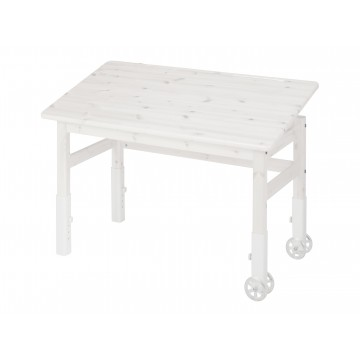 PULLOUT DESK - WHITE WASHED