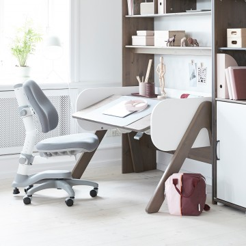 WOODY STUDY DESK - CLEAR LACQUER